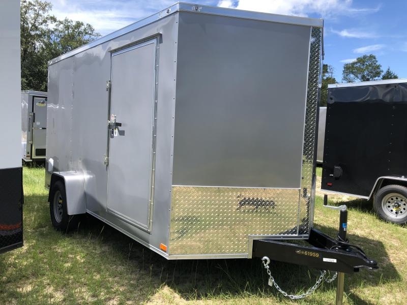 2021 Covered Wagon Trailers 7X12SA Goldmine Enclosed Cargo Trailer