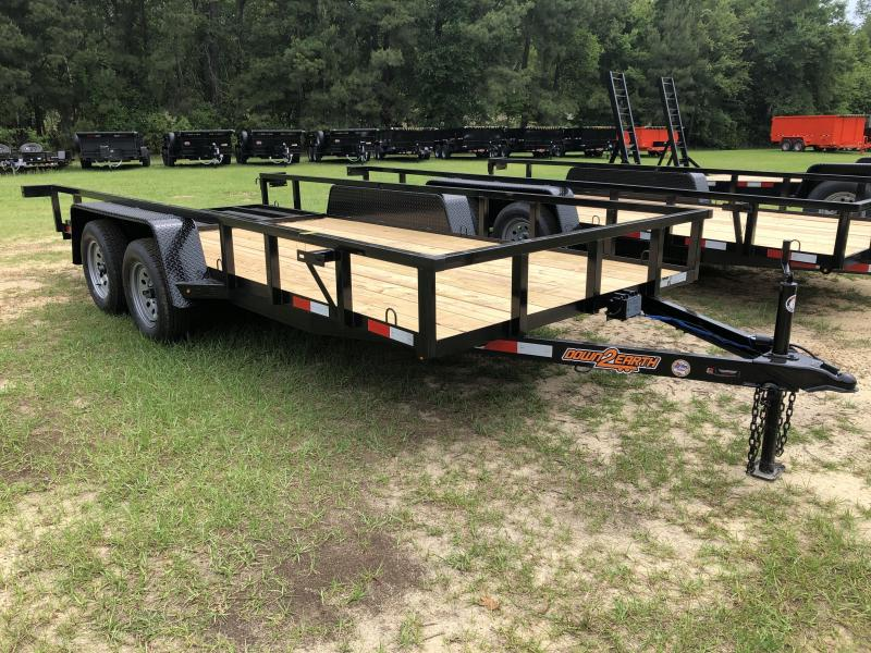 2021 Down 2 Earth Trailers 76x16TA Utility Trailer