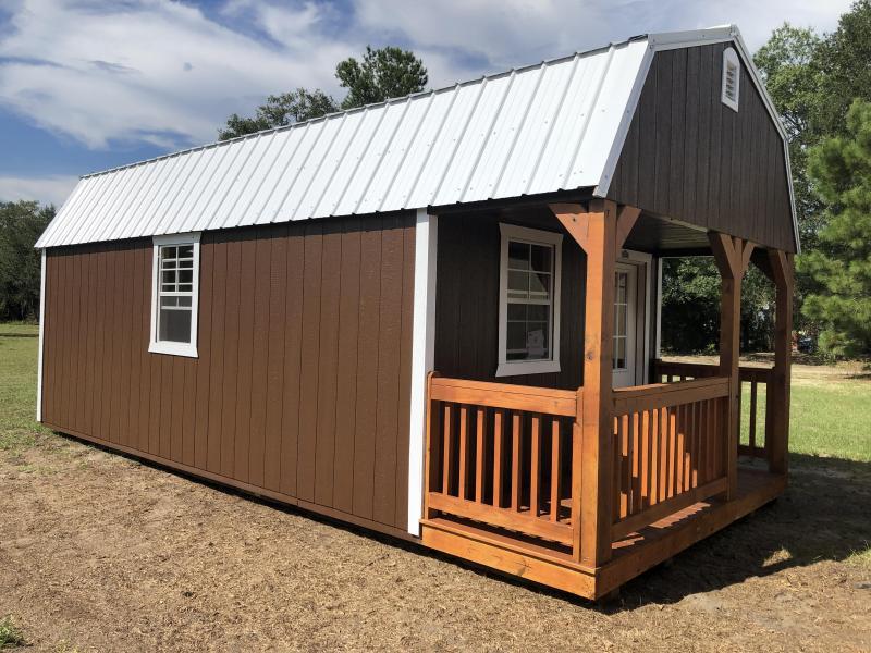 2020 Stor-Mor 12x24 Lofted Barn Cabin
