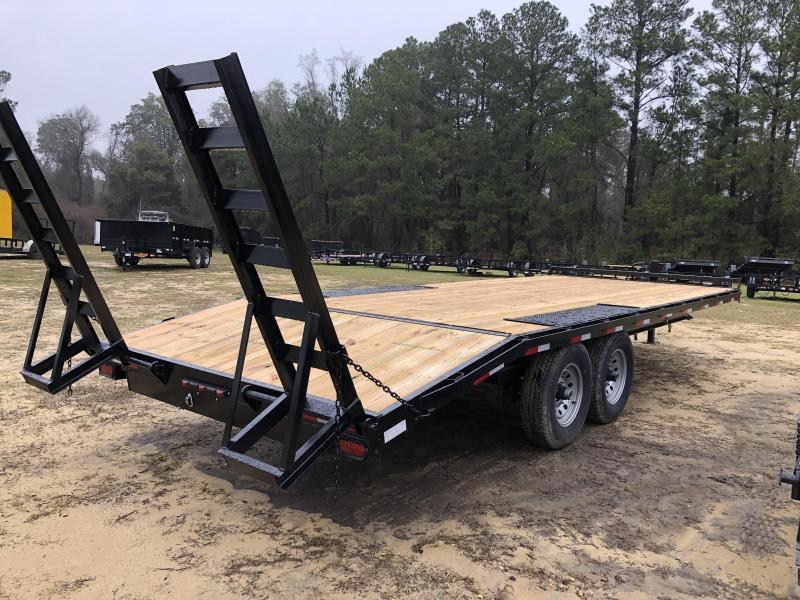 """2021 Down 2 Earth Trailers 102""""x22' DECK OVER Equipment Trailer"""