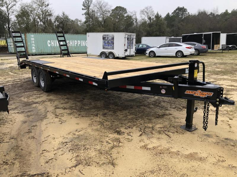 "2021 Down 2 Earth Trailers 102""x22' DECK OVER Equipment Trailer"
