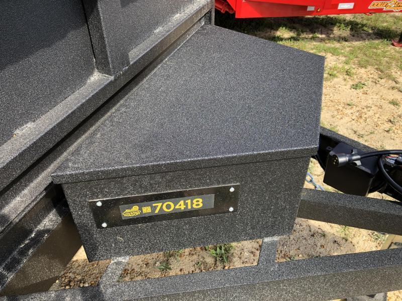 """2021 Covered Wagon Trailers 6'X12'x24""""TA - DUMP - FULLY RHINO BLASTED"""