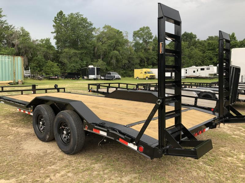 2020 Load Trail 102X20 w/ Drive over fenders Equipment Trailer