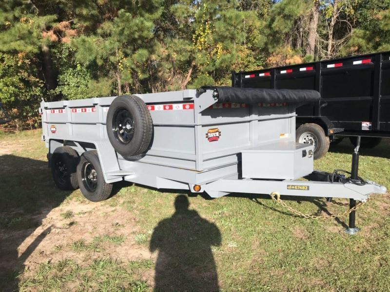 "2021 Covered Wagon Trailers 72""X12'X24"" 10k Tandem Axle Dump Trailer"