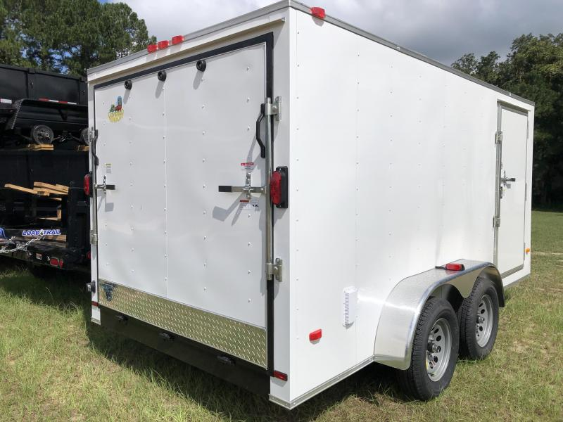 2021 Covered Wagon Trailers 7X14TA S.S. Enclosed Cargo Trailer