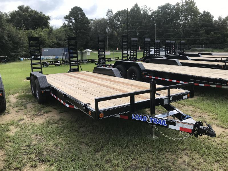 "2021 Load Trail 83X20TA 5"" Frame Carhauler w/ 5'x16"" Ramps"