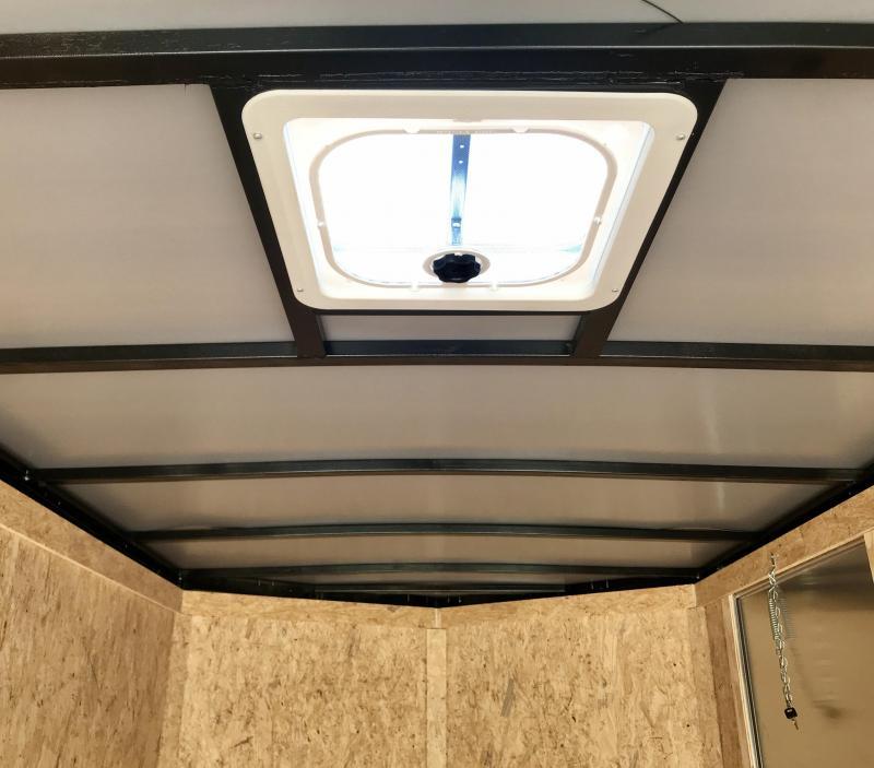 2021 Covered Wagon Trailers 6X12SA POWDER COATED