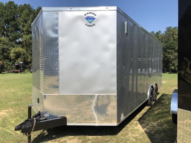 2021 Diamond Cargo 8.5x20TA3 XTRA HEIGHT Enclosed Cargo Trailer