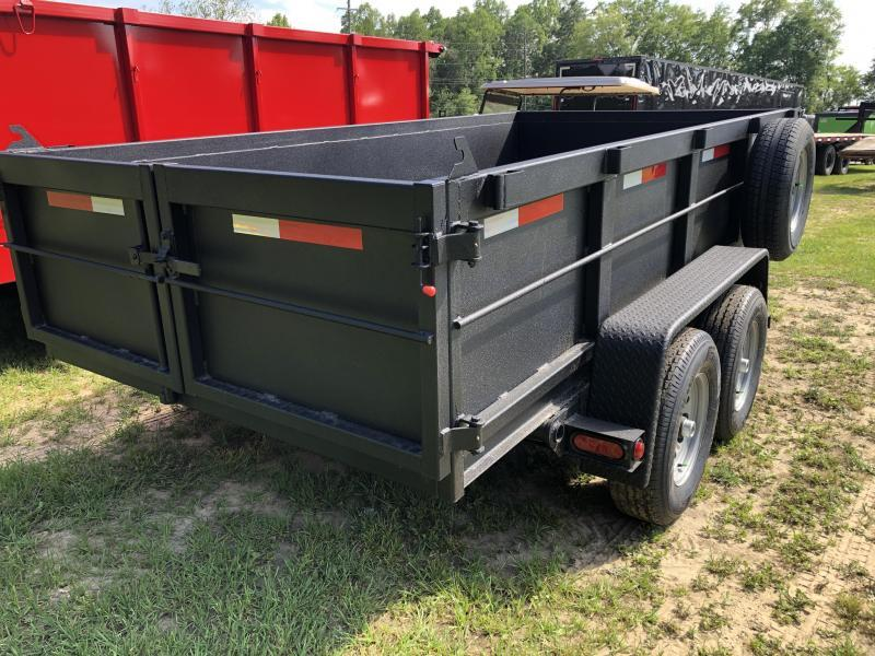 "2021 Covered Wagon Trailers 6'X12'x24""TA - DUMP - FULLY RHINO BLASTED"