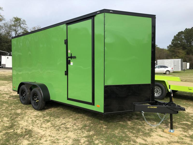 2021 Covered Wagon Trailers 7x16TA XTRA HEIGHT Enclosed Cargo Trailer