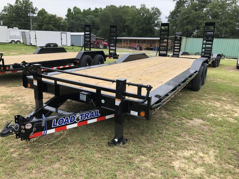 2020 Load Trail 102X24EH w/ Driveover fdnrs Equipment Trailer