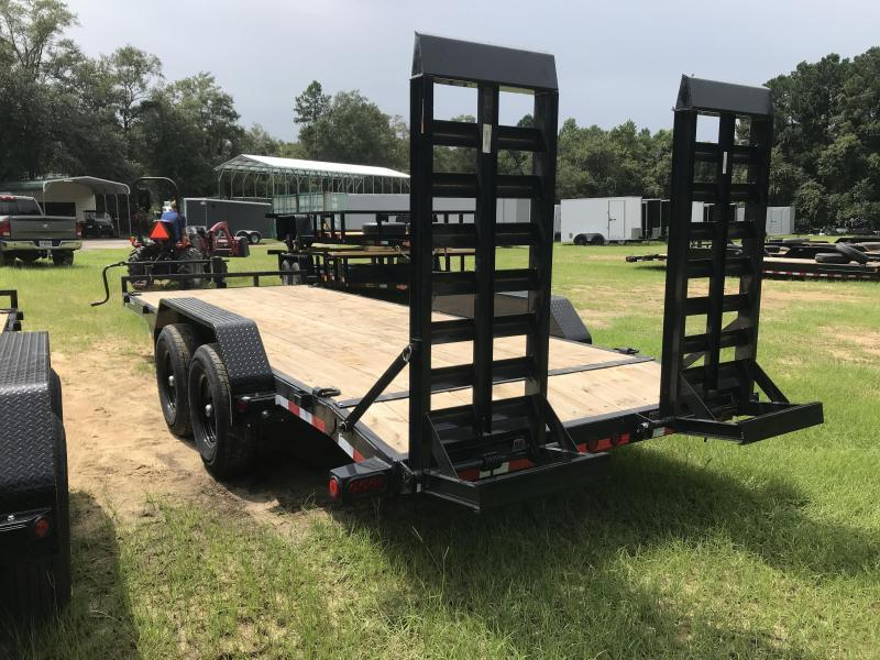 "2021 Load Trail 83X20TA 6"" Frame Carhauler w/ 5'x24"" Ramps"