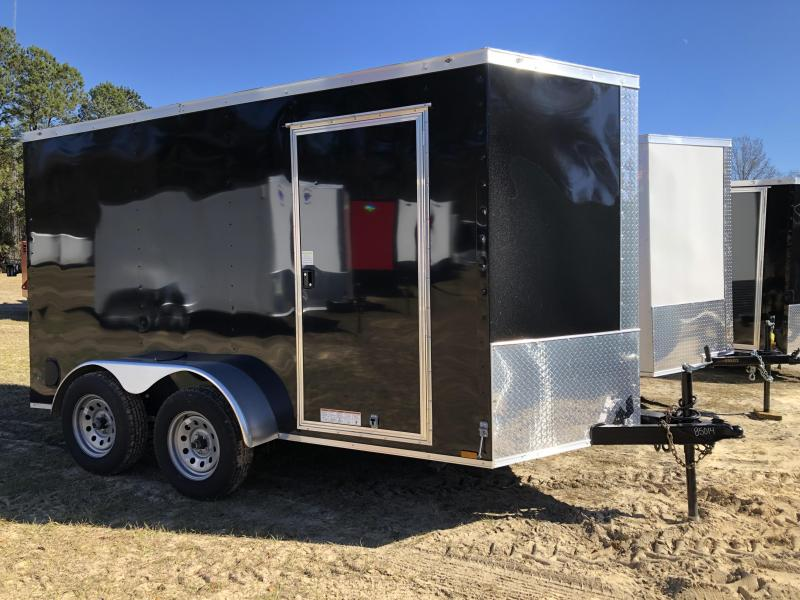 2021 Diamond Cargo 6x12TA Enclosed Cargo Trailer