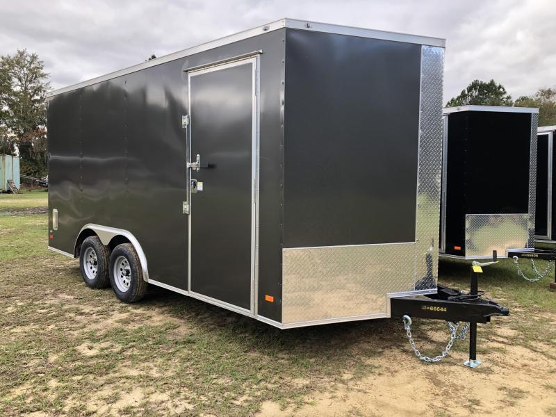 2021 Covered Wagon Trailers 8.5x16TA XTRA HEIGHT Enclosed Cargo Trailer