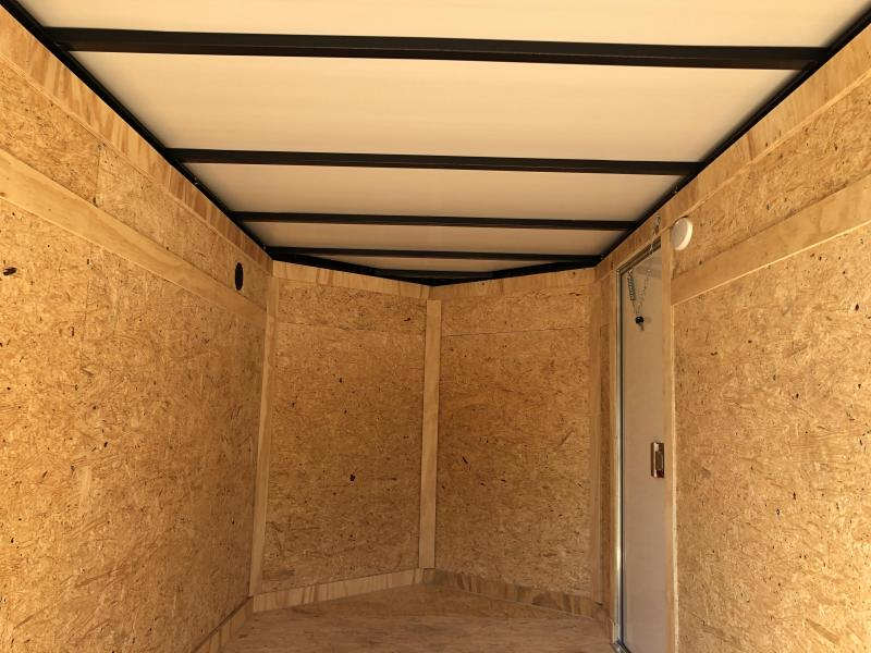 2021 Covered Wagon Trailers 5x8SA w/ Side Door Enclosed Cargo Trailer