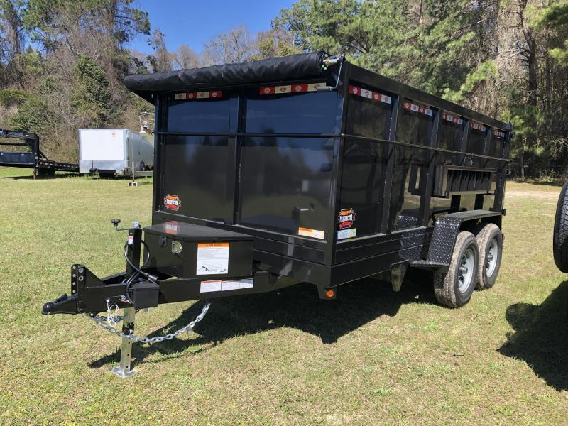 "2021 Covered Wagon Trailers 7'x14'x48"" 14k Tandem Axle Dump Trailer"