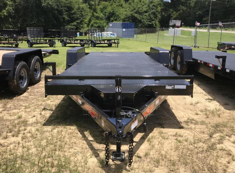 2021 Down 2 Earth Trailers 82x20 Powered 10k FULL TILT Equipment Trailer