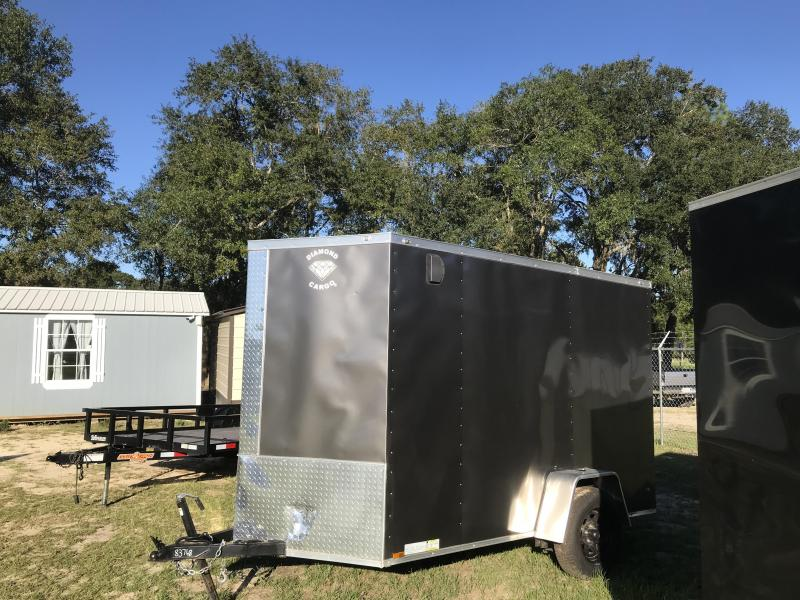 2020 Diamond Cargo 6x10SA Enclosed Cargo Trailer