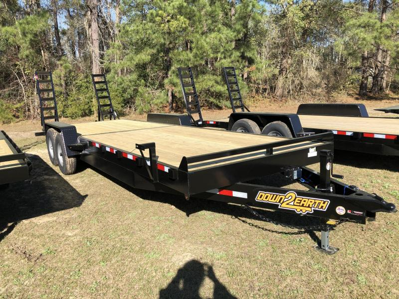 "2021 Down 2 Earth Trailers 82"" X 24' TA 14k Equipment Trailer"
