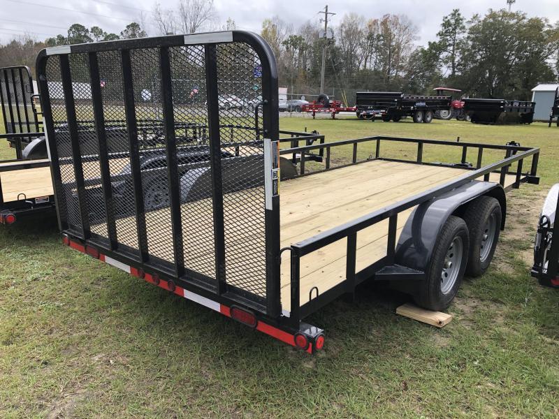 2021 Load Trail 83x16TA Utility Trailer w/ stand up ramp