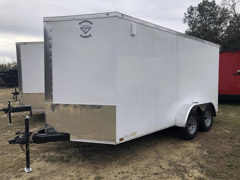 2021 Diamond Cargo 7x14TA Enclosed Cargo Trailer