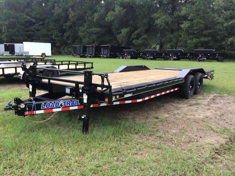 "2021 Load Trail 102""x24' CH w/ MAX RAMPS Equipment Trailer"
