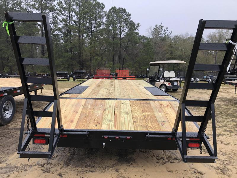 """2021 Down 2 Earth Trailers 102""""x20' DECK OVER Equipment Trailer"""