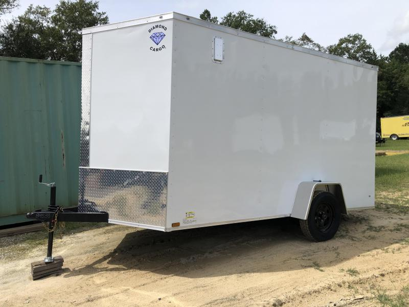 2020 Diamond Cargo 7x12SA Enclosed Cargo Trailer
