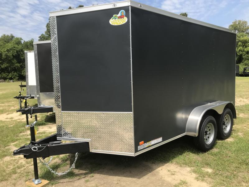 2021 Covered Wagon Trailers 7x12TA Gold Series