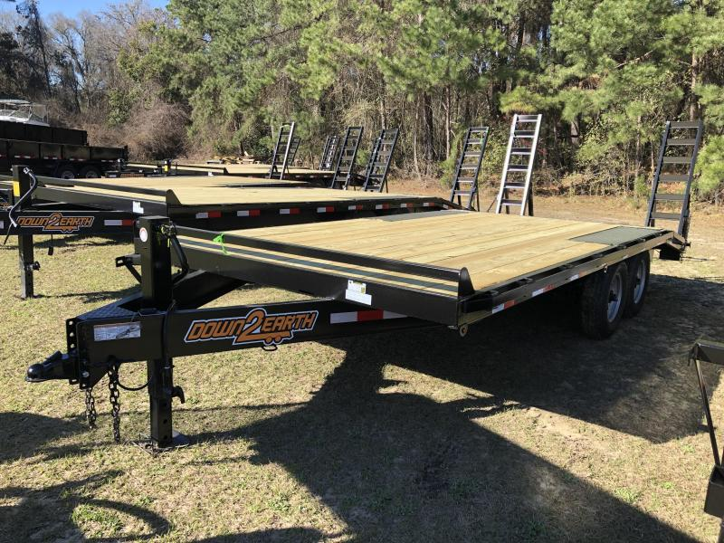 "2021 Down 2 Earth Trailers 102""x18' DECK OVER Equipment Trailer"