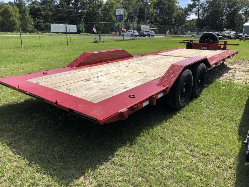 "2021 Load Trail 102""x26' TILT w/ WINCH & Spare tire Equipment Trailer"