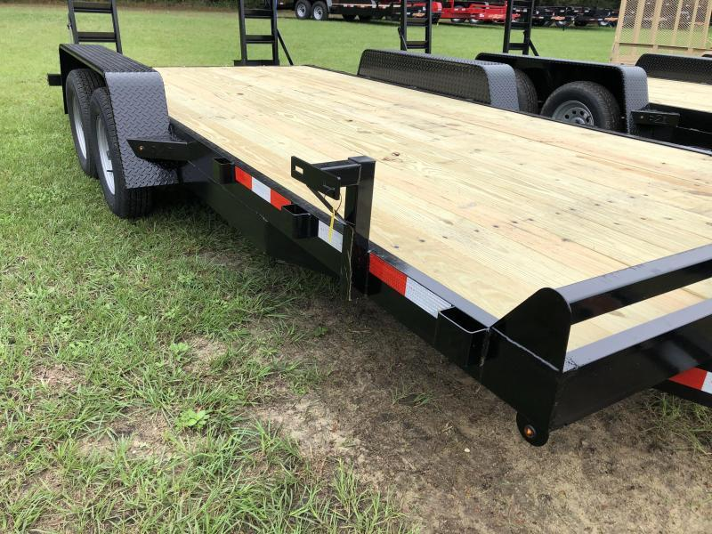 2020 Down 2 Earth Trailers 82x18 7k Equipment Hauler