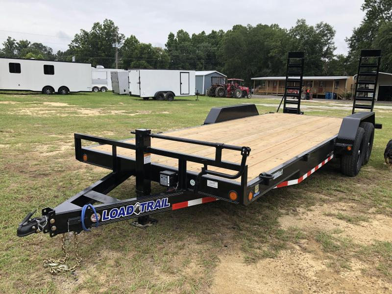 2020 Load Trail 83X20CH STANDUP RAMPS Equipment Trailer