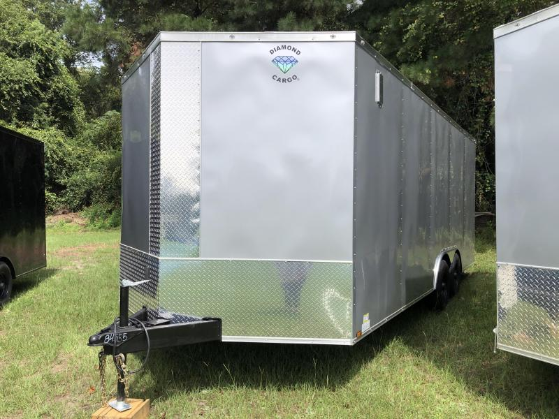2021 Diamond Cargo 8.5x20TA3 XTRA HEIGHT Enclosed Cargo Trailer