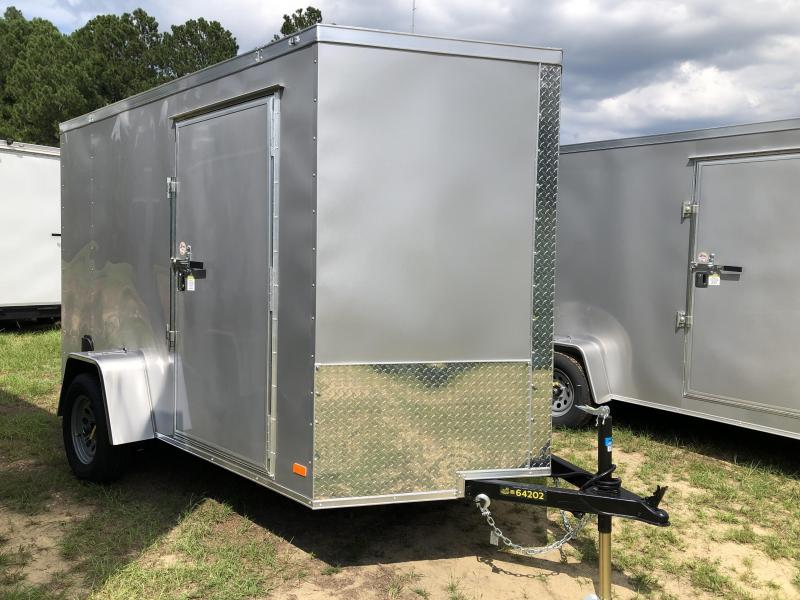 2021 Covered Wagon Trailers 6x10SA Enclosed Cargo Trailer