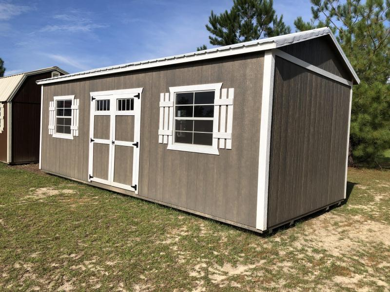 2021 Stor-Mor 12x24 w/ SHELVING Side Utility Shed