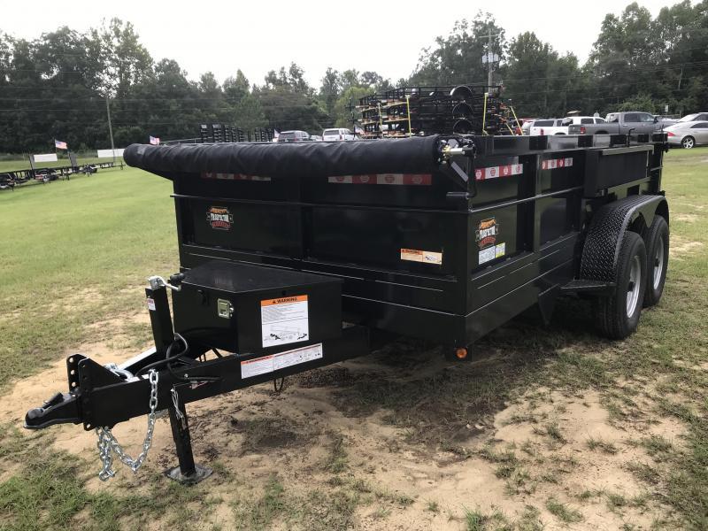 2021 Covered Wagon Trailers 7x14x4TA 14k Dump Trailer