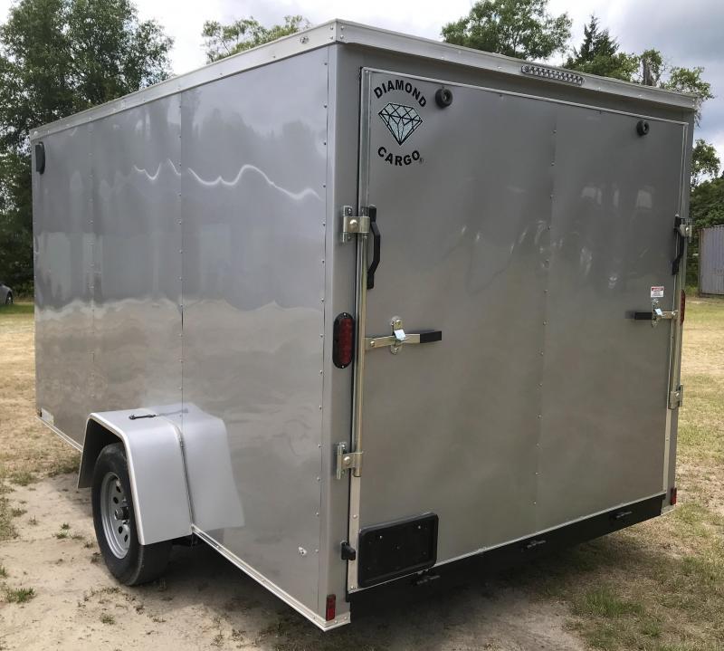 2021 Diamond Cargo 7x12SA Enclosed Cargo Trailer