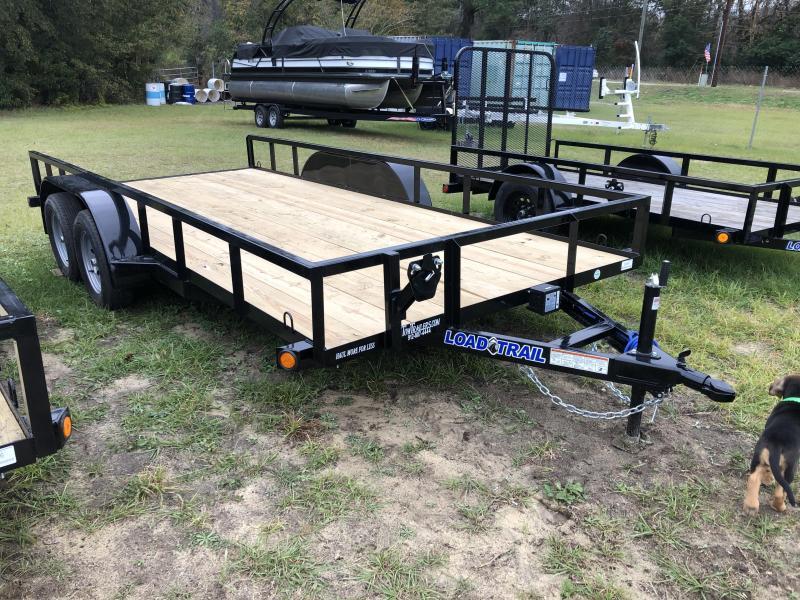 2021 Load Trail 83x16TA Utility Trailer w/ SLIDE-IN RAMPS