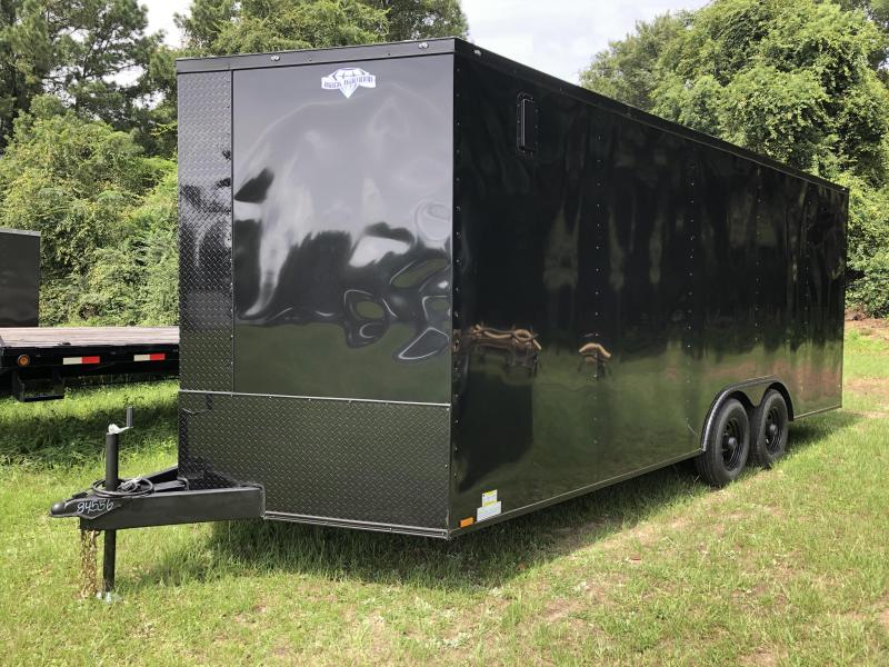2021 Diamond Cargo 8.5x20TA3 BLACK OUT Enclosed Cargo Trailer