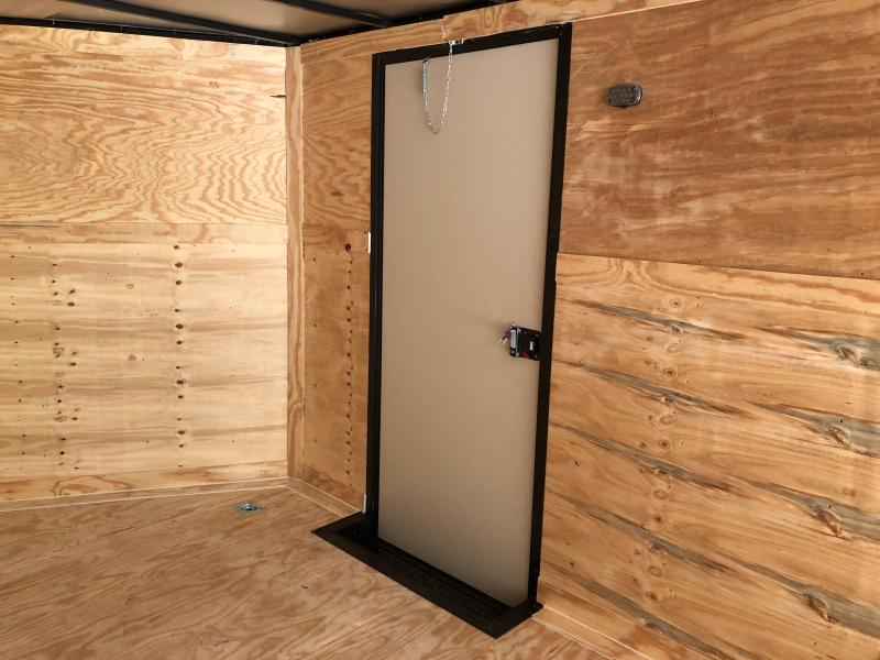 2021 Diamond Cargo 8.5x20TA3 BLACK OUT Enclosed Cargo Trailer