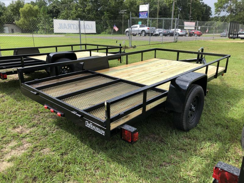 2020 MidSouth 6x12SA w/ Lay-in Gate; Utility Trailer