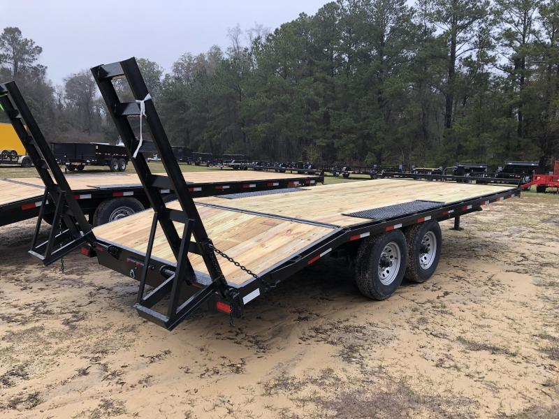 "2021 Down 2 Earth Trailers 102""x20' DECK OVER Equipment Trailer"