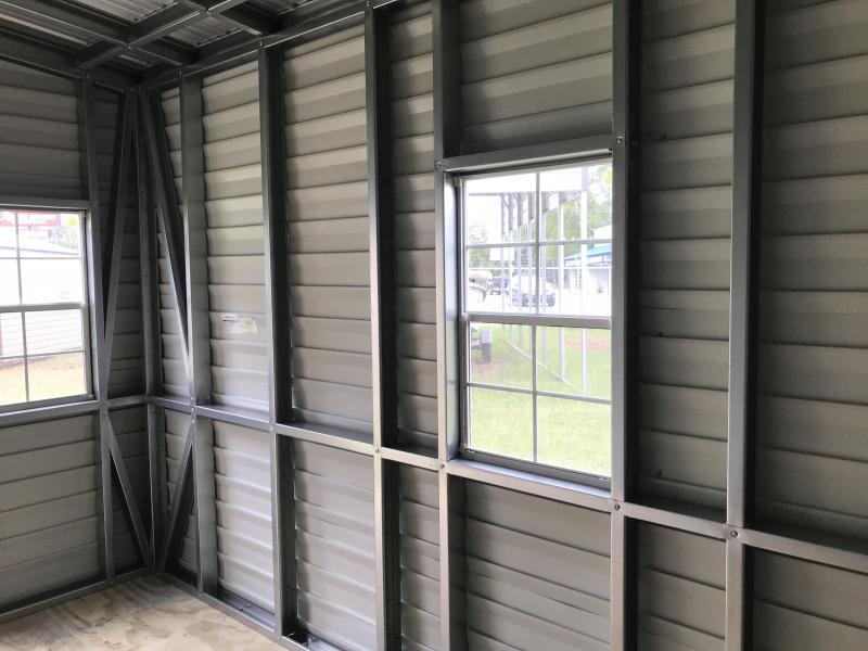 2021 Lark 10x16 Metal Building