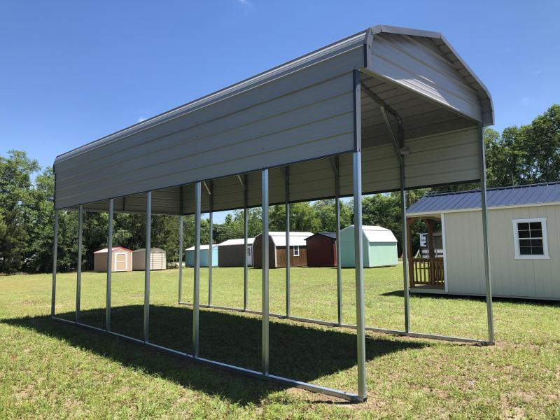 2020 12'x31' RV/Carport Steel Frame Shed