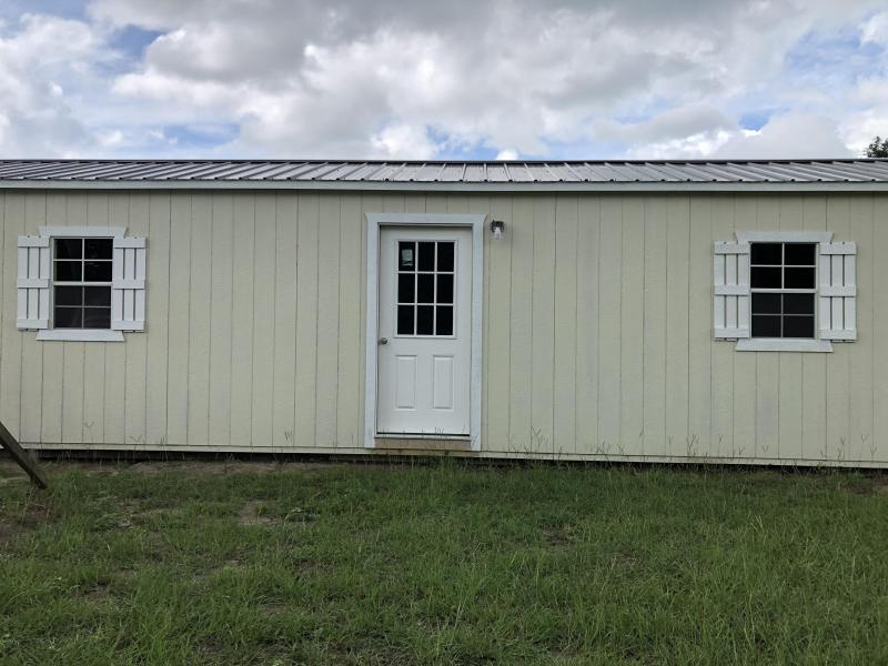 2020 Stor-Mor 12x40 Side Utility w/ Electricity Utility Shed