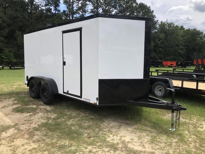 2021 Diamond Cargo 7x14TA w/ Black-out Pkg Enclosed Cargo Trailer