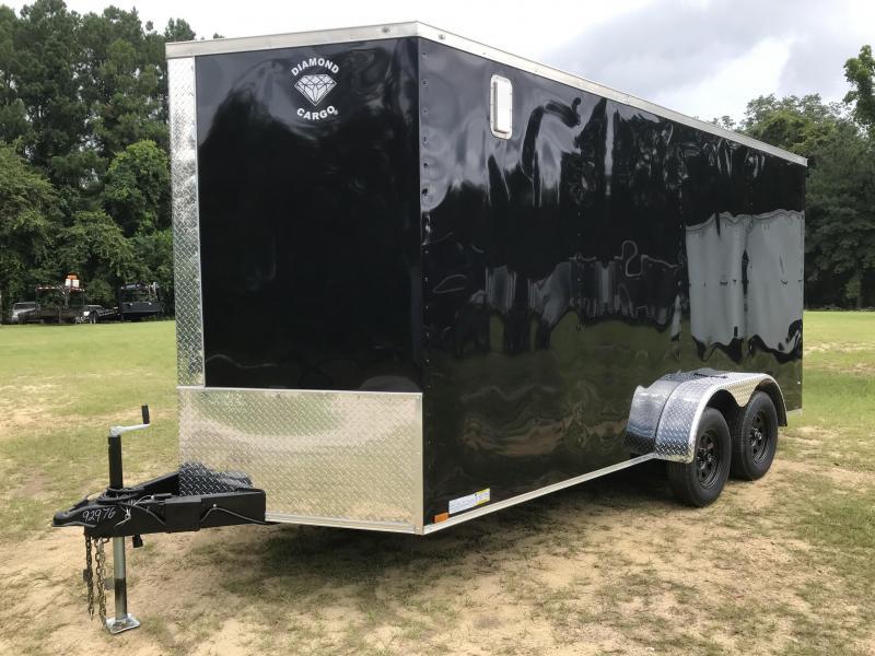 2021 Diamond Cargo 7x16TA XTRA HEIGHT Enclosed Cargo Trailer