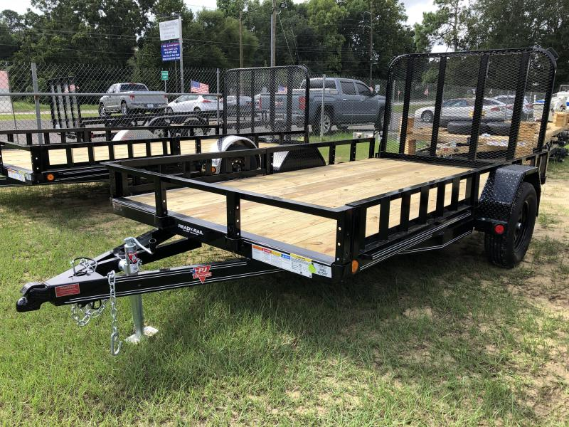 "2021 PJ Trailers 77"" X 12' SA - ATV RAMPS Utility Trailer"