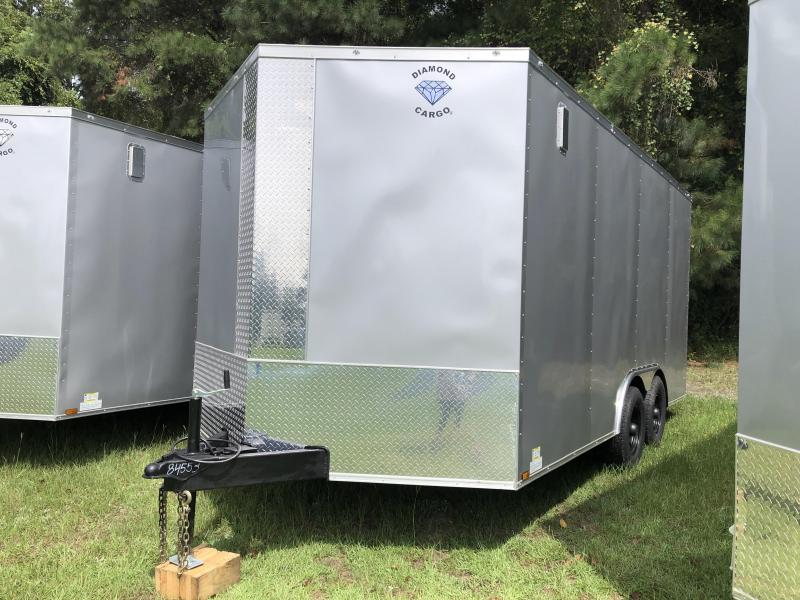 2021 Diamond Cargo 8.5x16TA3 XTRA HEIGHT Enclosed Cargo Trailer